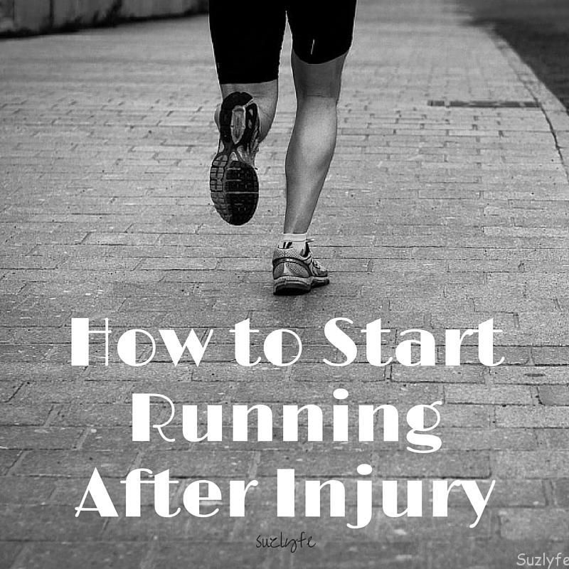 How to Start Running After Injury Suzlyfe How to start