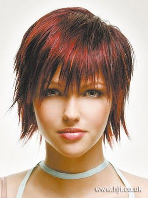 I Like This Haircut Would It Look Good On Me Manide Coots Choppy Hair Hair Styles Short Layered Bob Hairstyles