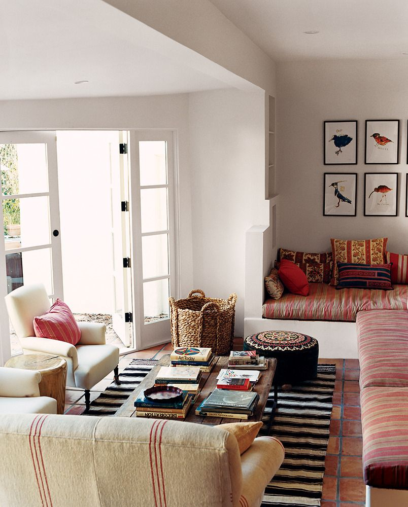 Crazy Chic Design Modern Boho Basement: See More Images From Great Photos From November 2007 On