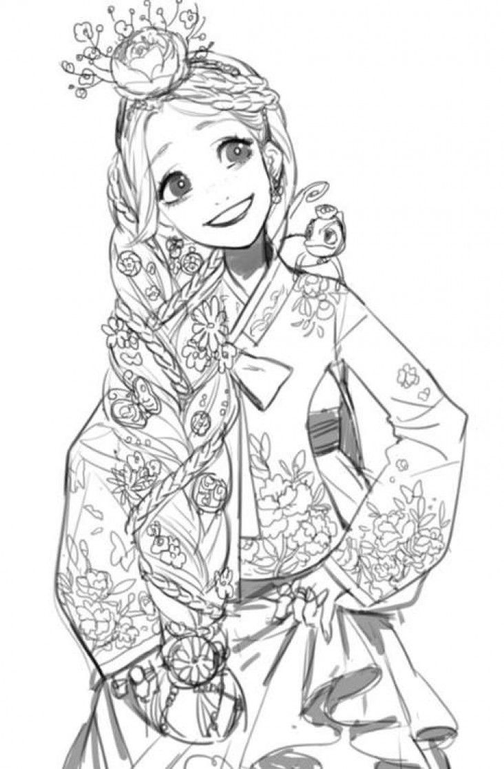 Raiponce la reine des neiges rebelle dragons et jack - Raiponce dessin anime ...