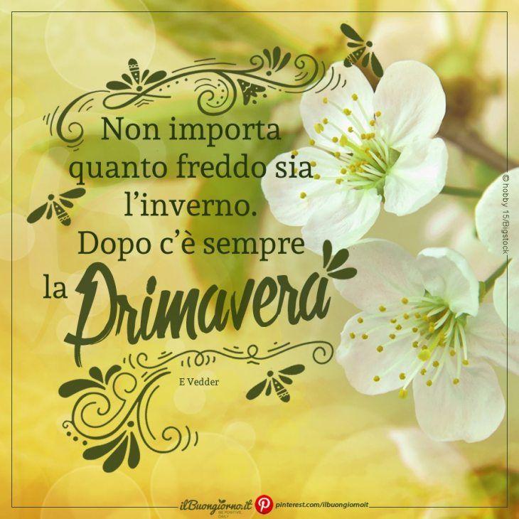 Buona Primavera Mia Italian Quotes Place Card Holders E Place