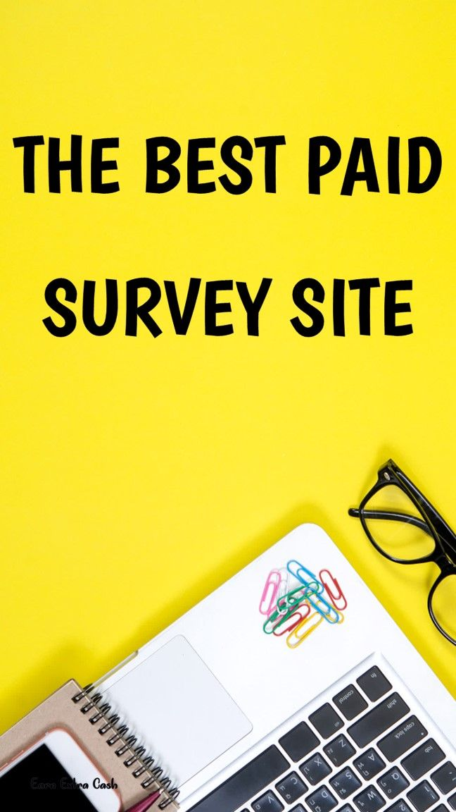 The Best Paid Survey Site.. earn money real ways to
