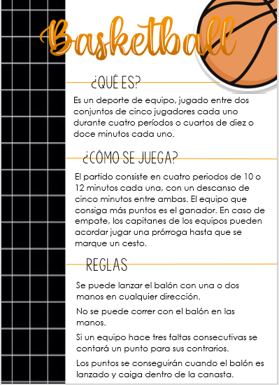 Basketball Apuntes De Clase Como Tomar Apuntes Libreta De Apuntes