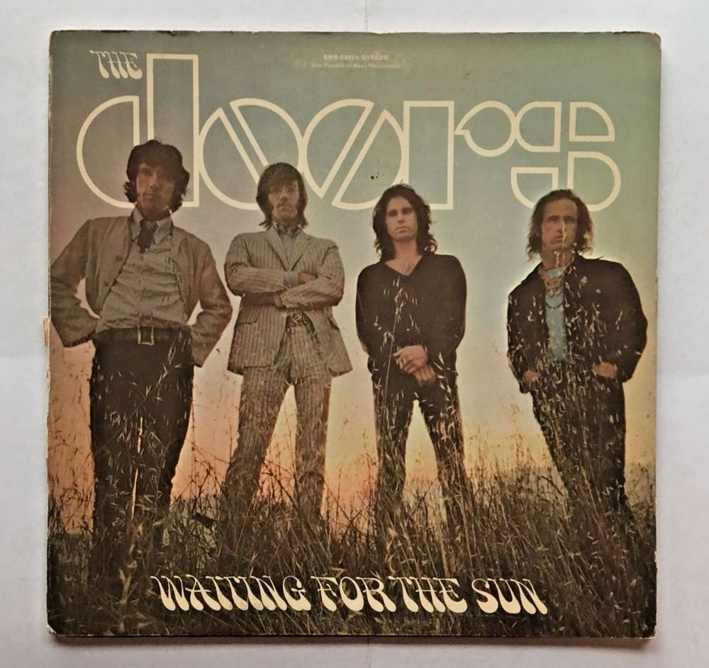 TH DOORS [LP] WAITING FOR THE SUN (VINYL 1968 ELEKTRA RECORDS) EKS-74024-B #CLASSICROCK