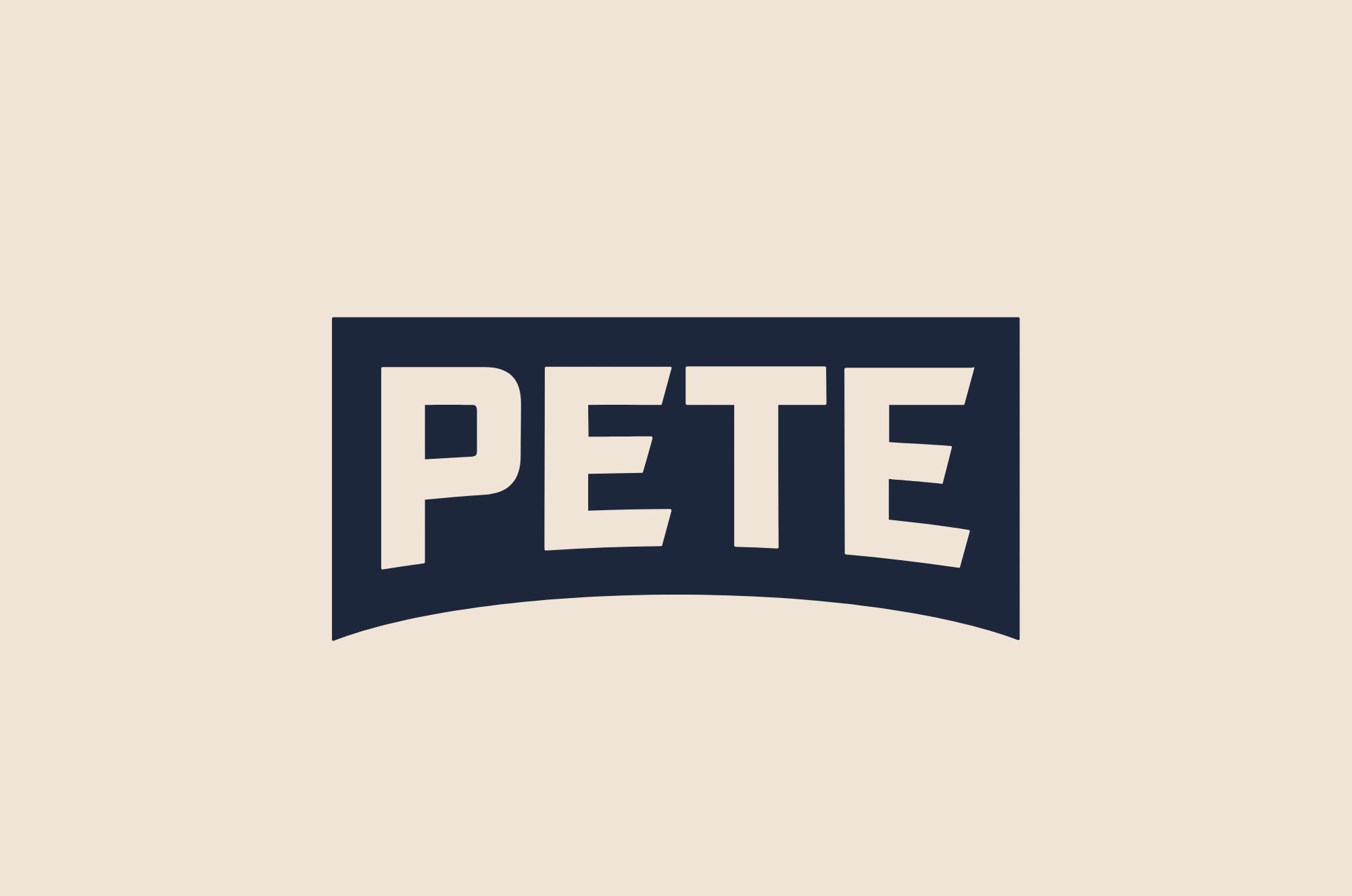 Brand New New Logo And Identity For Pete Buttigieg By Hyperakt Water Under The Bridge Identity Logo Pub Logo