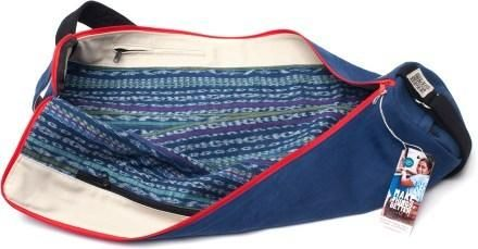2bed739e86ad I AM. yoga mat bag is made with fabric handwoven in Guatemala using an  indigenous Mayan method.  REIgifts