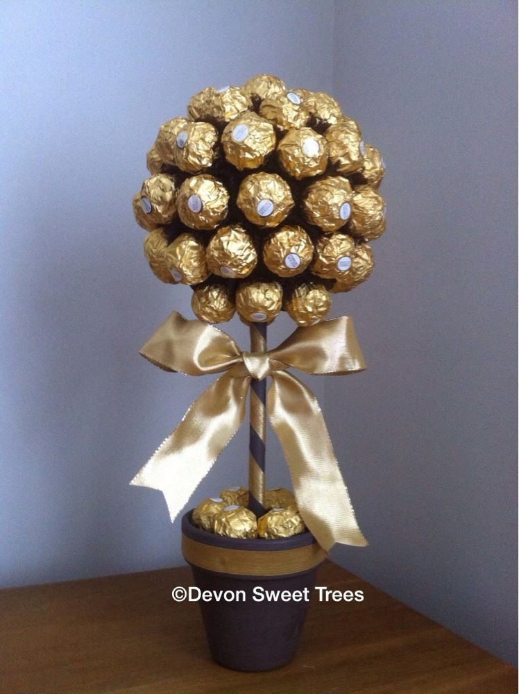 lindt lindor ferrero rocher sweet tree arbres douces. Black Bedroom Furniture Sets. Home Design Ideas