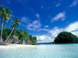 This is where I want to go! Bay of Honeymood Island, World Heritage Site, Rock Islands, Palau