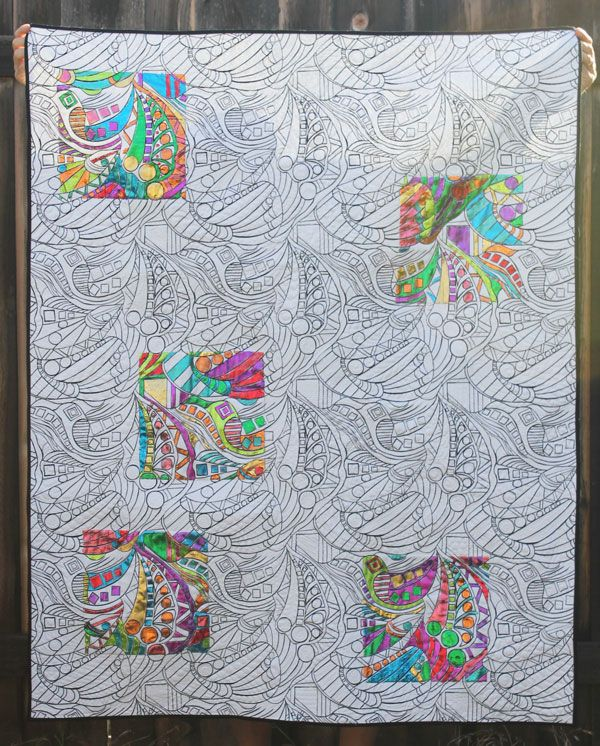 Fancy Create Coloring Book 5 Create a Deco Foil