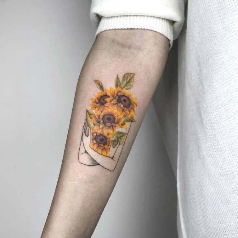 Photo of 135 Sunflower Tattoo Ideas – [Best Rated Designs in 2021]