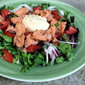 Red Sockeye Salmon Salad Recipe – Snappy Living