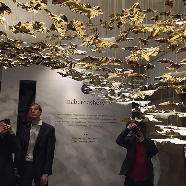 Interior Design Lighting Ideas Jaw Dropping Stunning: Porcelain Leaves Make A Stunning Chandelier. By Haberdashery #designjunction #ldf15