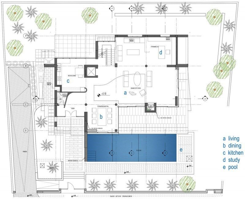 Contemporary Home Layout
