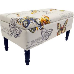 Buy Butterfly Storage Ottoman at ArgoscoukYour Online Shop