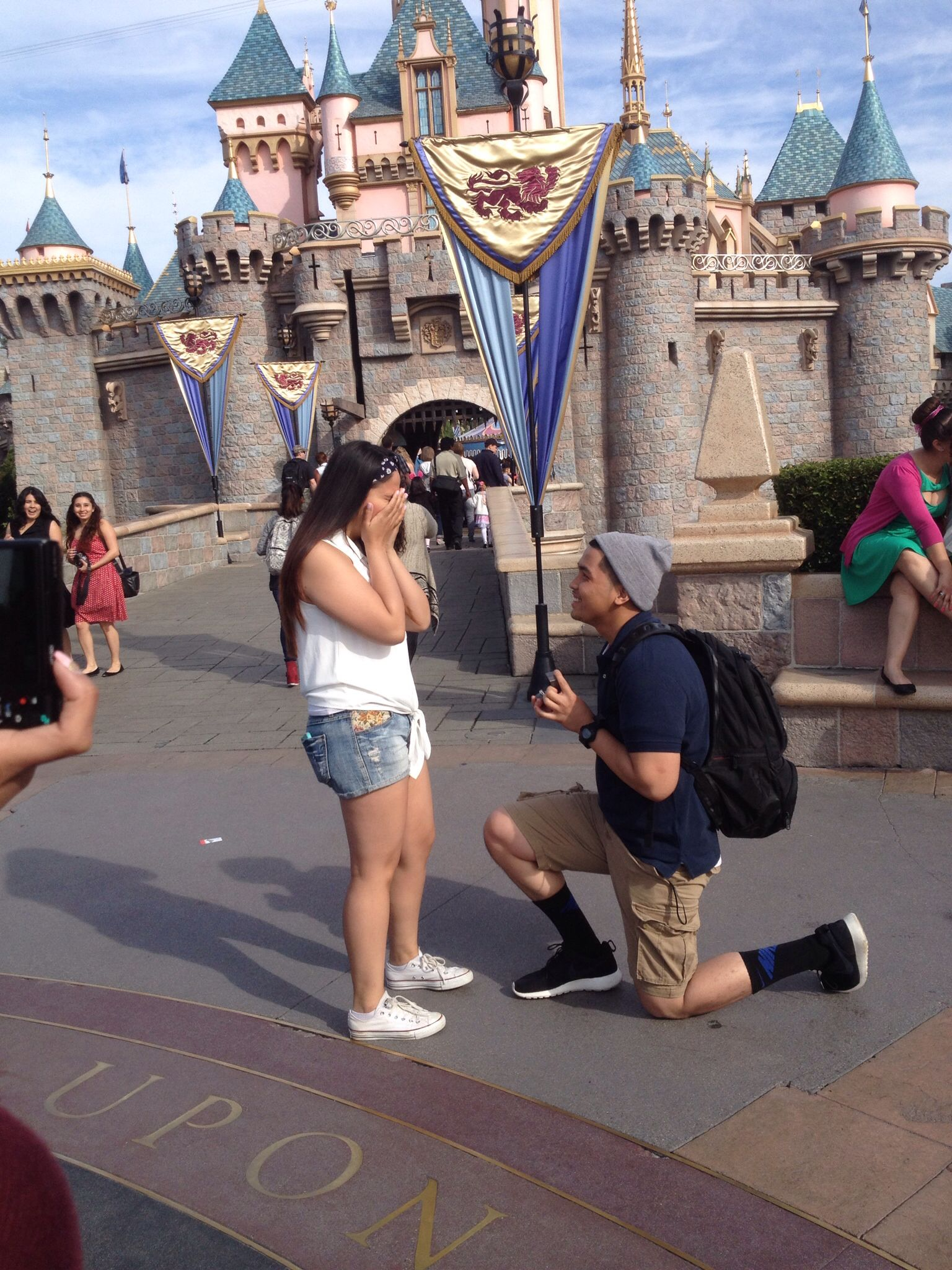 Disneyland Proposal in February | Wedding Ideas | Pinterest