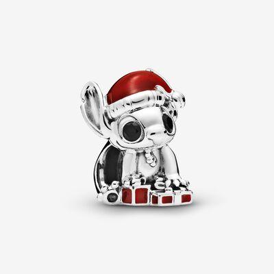 Disney Stitch Christmas Charm | Disney stitch, Bracciali con ...