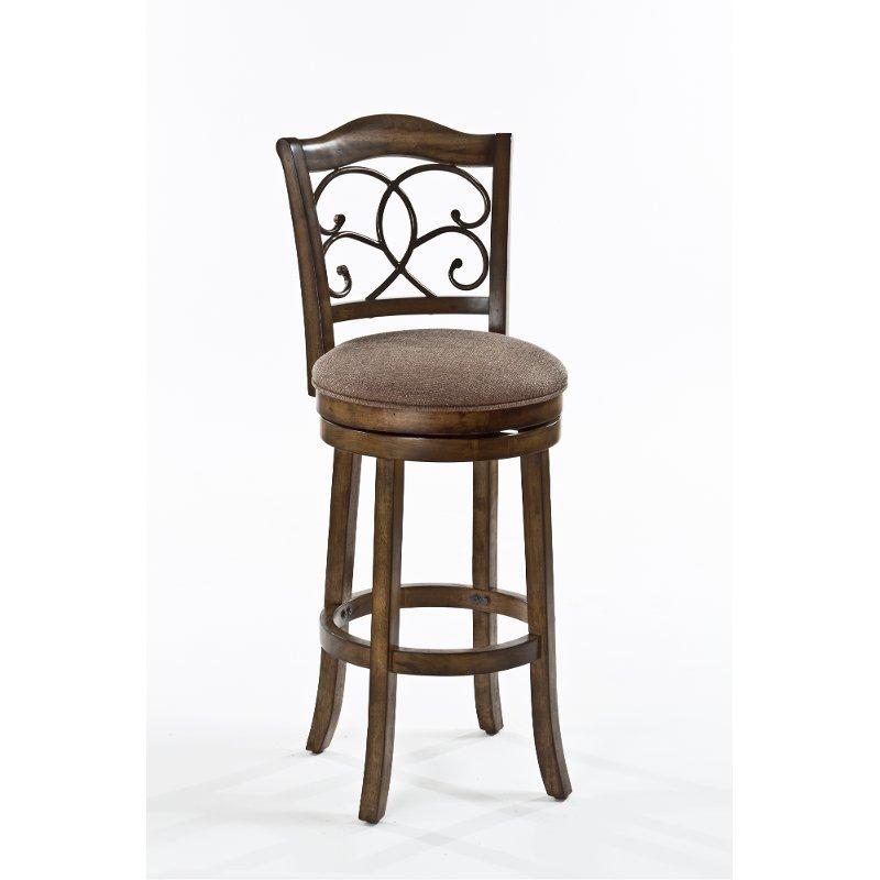 Enjoyable Rich Walnut Counter Height Stool Mclane Design Ideas In Cjindustries Chair Design For Home Cjindustriesco
