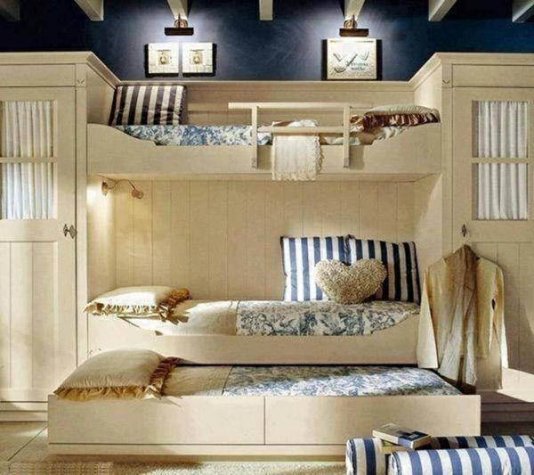 dekoideen mit kissen herzförmig stockbett Estella Pinterest - deko ideen schlafzimmer jugendzimmer