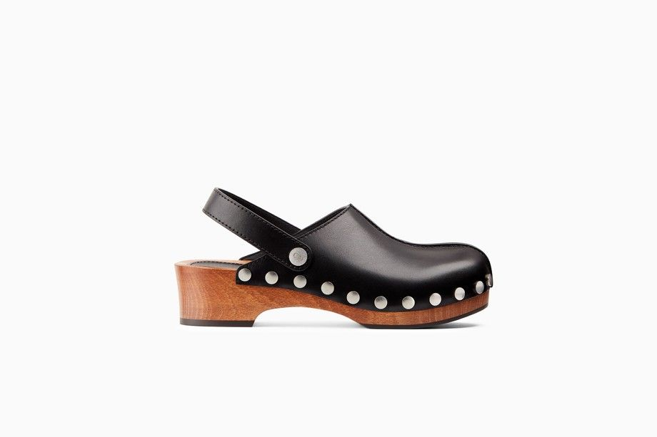 0ee189fc21e6 Diorquake calfskin leather clog - Flat Shoes Dior