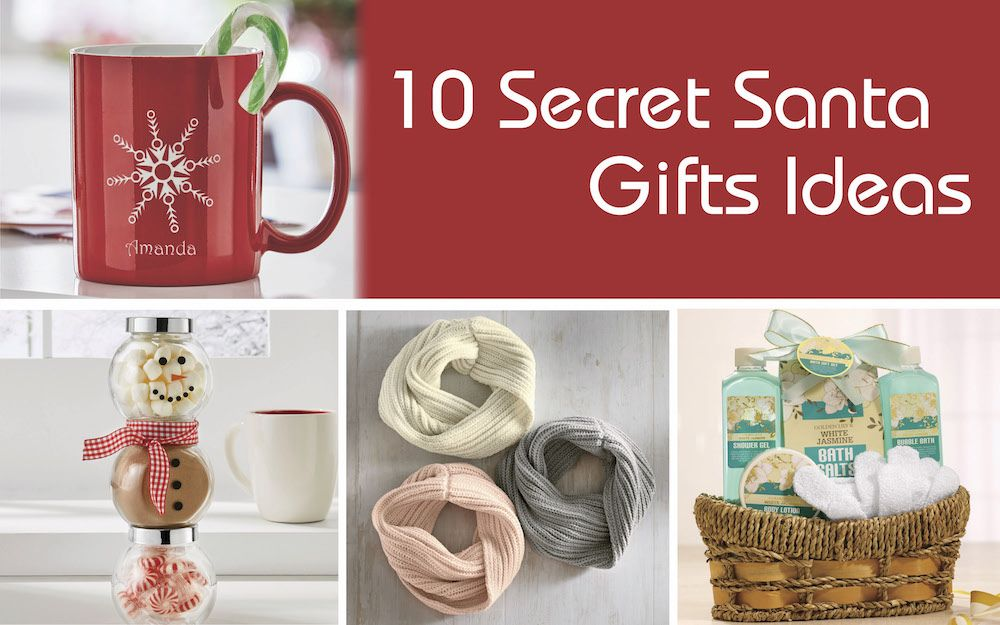 If you start to stress the moment you pull someone's name out of the hat for this year's Secret Santa gift exchange, then fear not. We've gathered a list of affordable secret Santa gift ideas that everyone will appreciate unwrapping and you can feel good about giving. Check out these Secret Santa Gifts Ideas: