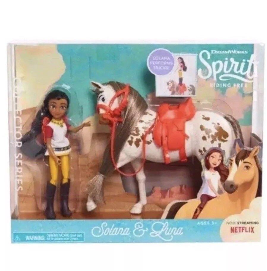 DreamWorks Spirit Riding Free SOLANA PERFORMS TRICKS