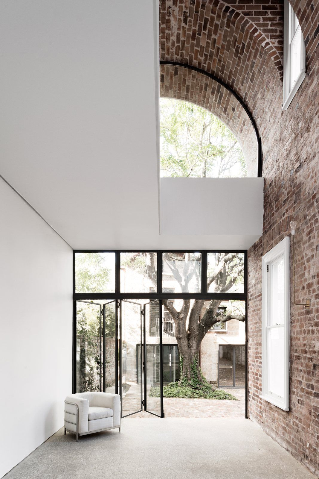Double Height Brick Vault Ceiling Italianate House By Renato D Ettorre Architects Up Interiors Interior Architecture Design Architecture House Architecture Design