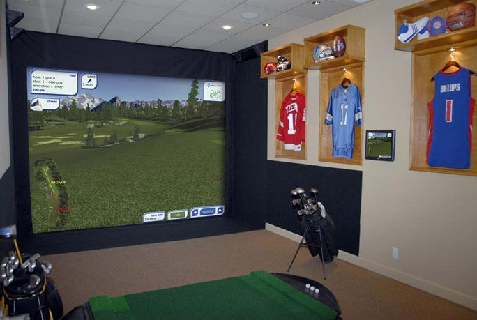 Jersey Displays For Our Sports Gym Room