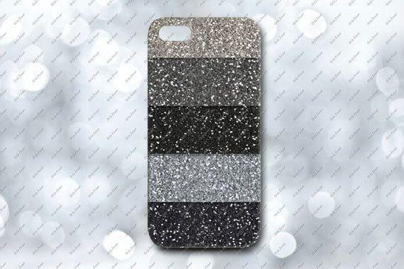 Monotone Glitter iphone case, Monotone Glitter for iphone 5s case iphone 4 case iphone 5c case iphone 5 case, Glitter samsung s3/s4 case on Etsy, $14.44