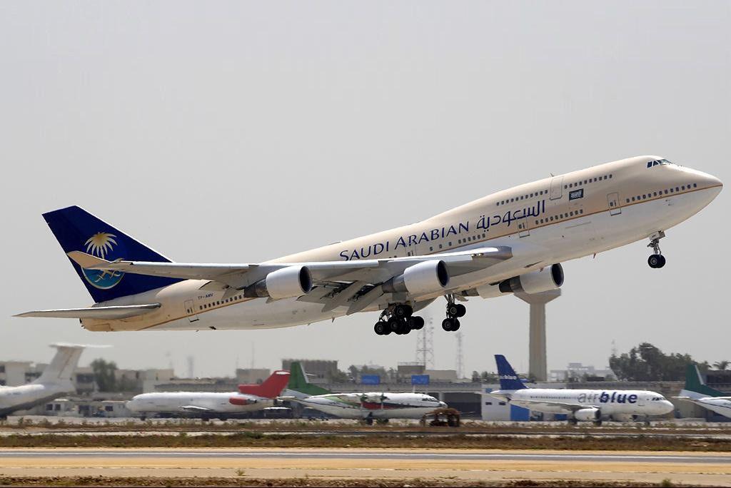 طيران السعودية Boeing 747 Airlines Boeing