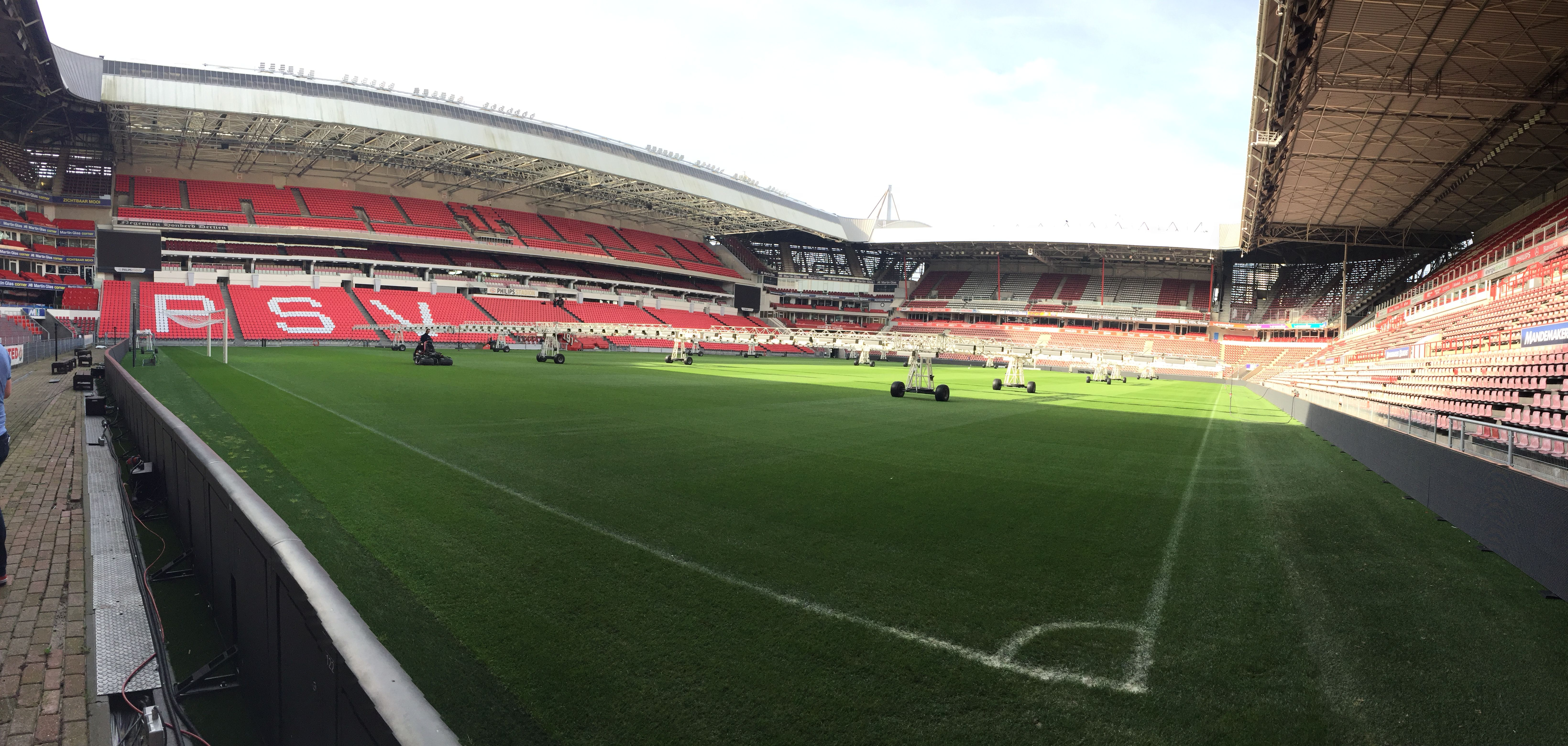 Pitch View Philips Stadion Rotterdam Eindhoven Dusseldorf
