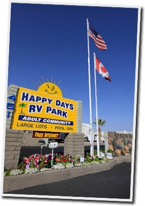Welcome To Happy Days Rv Park Apache Junction Az With Images Rv Parks Apache Junction City Travel