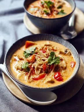 Photo of Thermomix recipe: Coconut soup Tom Kha Gai