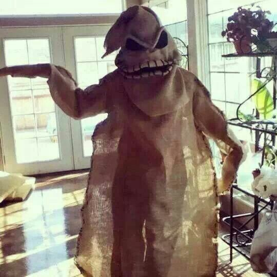 Nightmare before Christmas boogie man diy costume-For next year