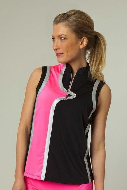 Jamie Sadock Ladies Golf  Tickle Me Pink Detail Womens -9316