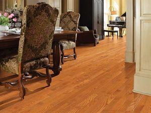 Shaw Floors Bellingham Oak Gunstock 2 1 4 Smooth Solid Oak