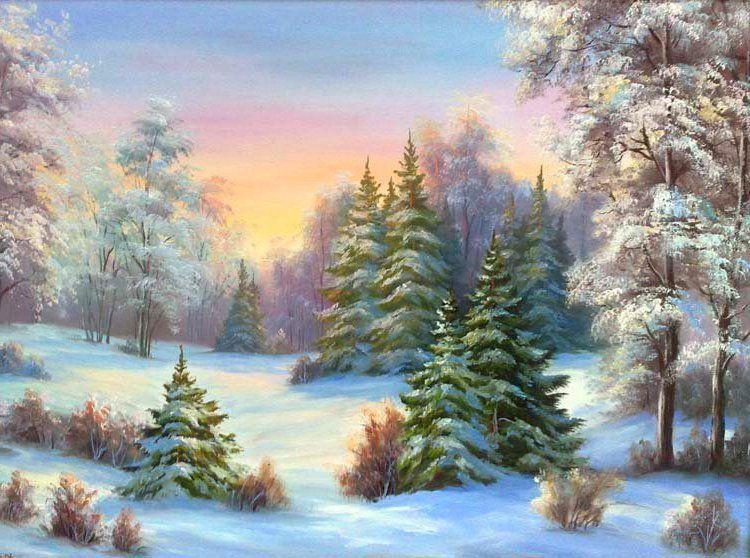 Парень девушка, картинки леса зимой для детей
