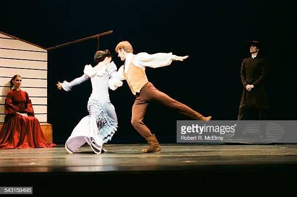 Russian-born American dancer Mikhail Baryshnikov and