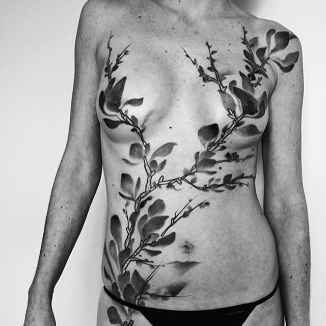 Mastectomy Tattoo - Find more at www.atattoostory.altervista.org
