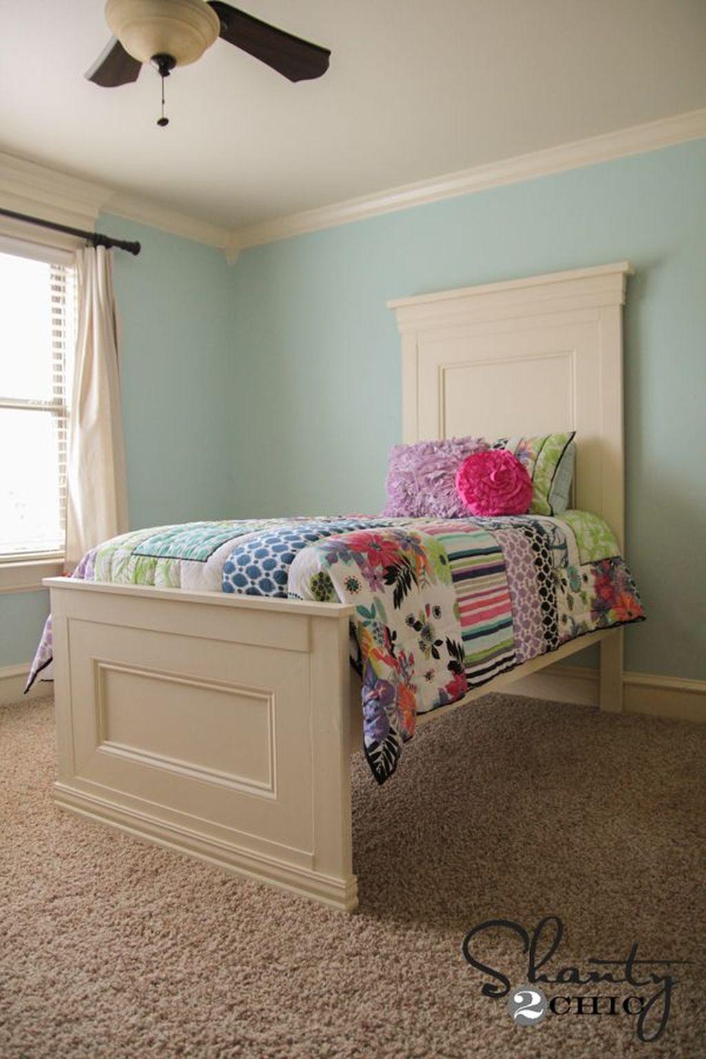 45 Amazing Diy Headboard Ideas Projects Diy twin bed