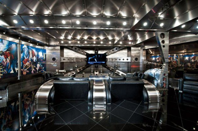 This Espionage Expert S Spy Lair Is A Must See The 1 350 Square Foot Quot Ballroom Quot Is Honed From
