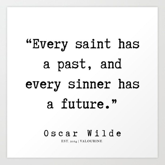 38    | Oscar Wilde Quotes | 190708 Art Print by Quotes And Sayings - X-Small