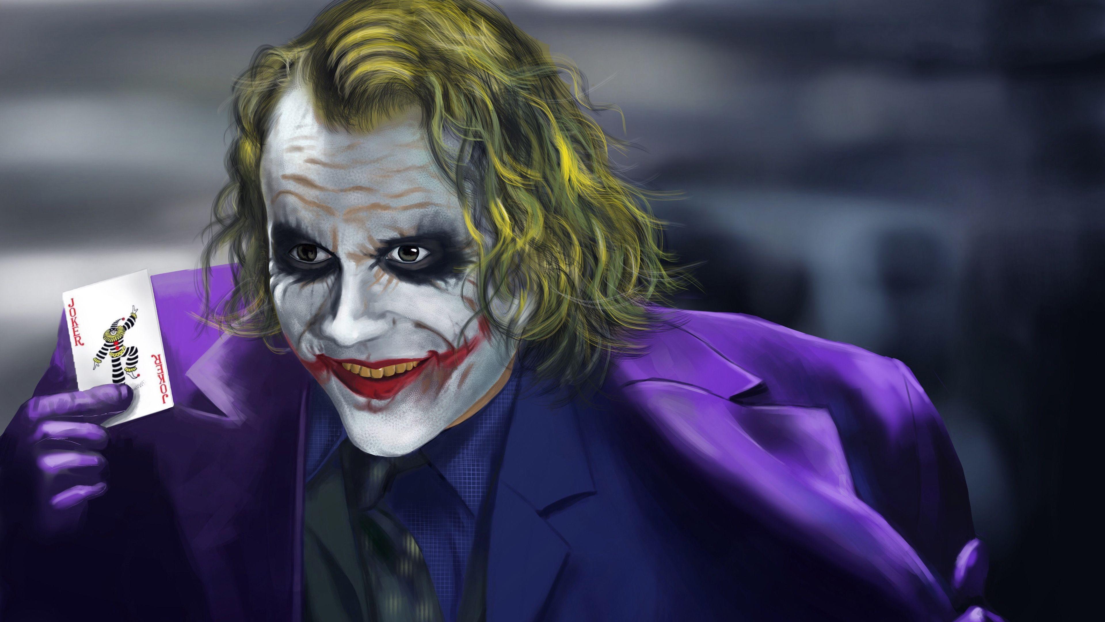 Joker 4k New Artwork 4k superheroes wallpapers, joker ...