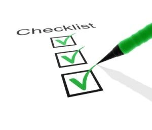catering checklists