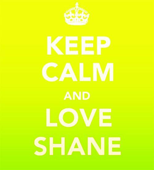 love shane (WEST) | A Little Bit Of Me | Shane west, Keep calm