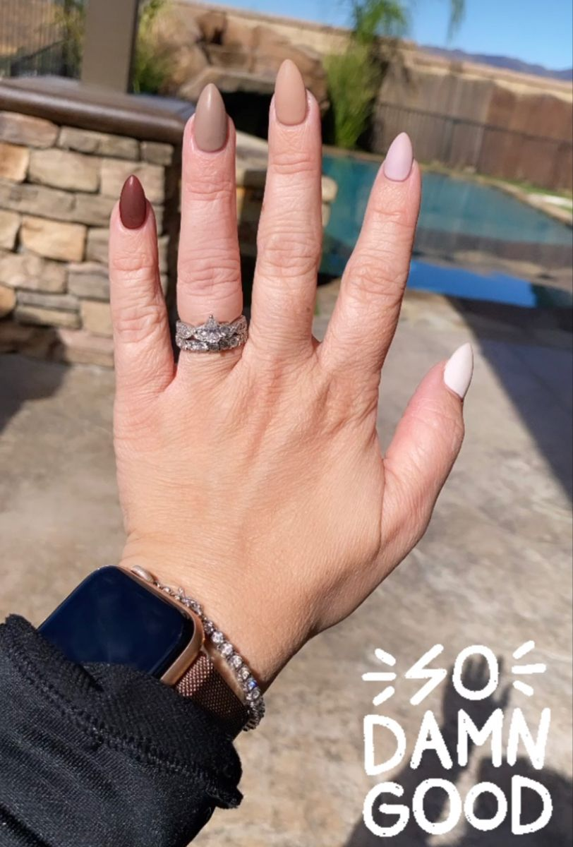 Fall nails, nail inspiration, nailfie