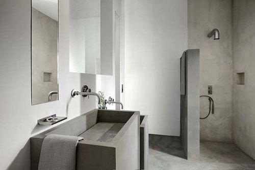 Betonlook badkamer | Interieur inrichting | Projecten om te proberen ...