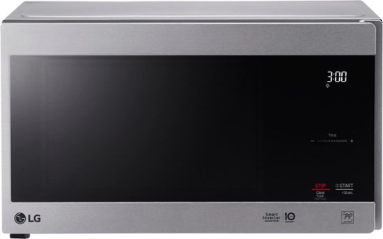 Lg Neochef 0 9 Cu Ft Compact Microwave Stainless Steel Lmc0975st