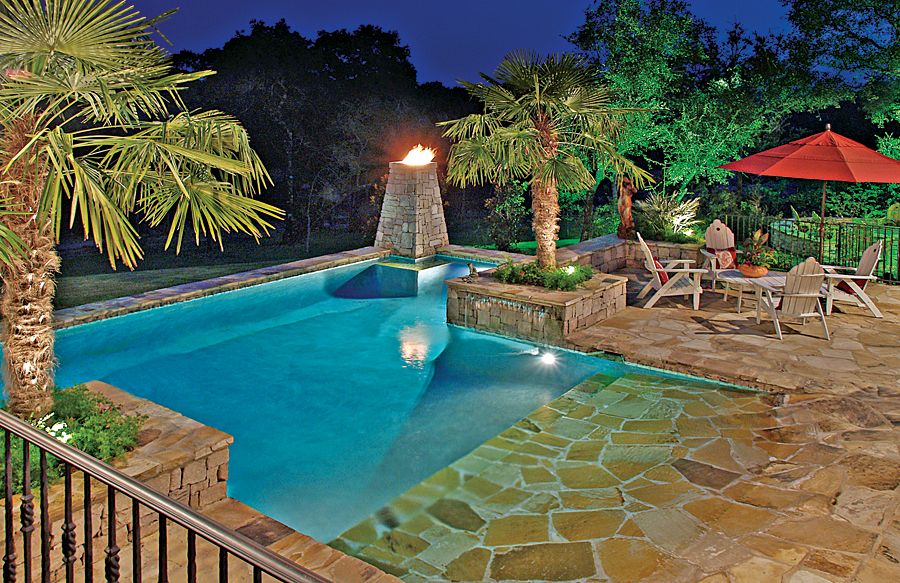 Zero Beach Entries   Blue Haven Custom Swimming Pool And Spa Builders
