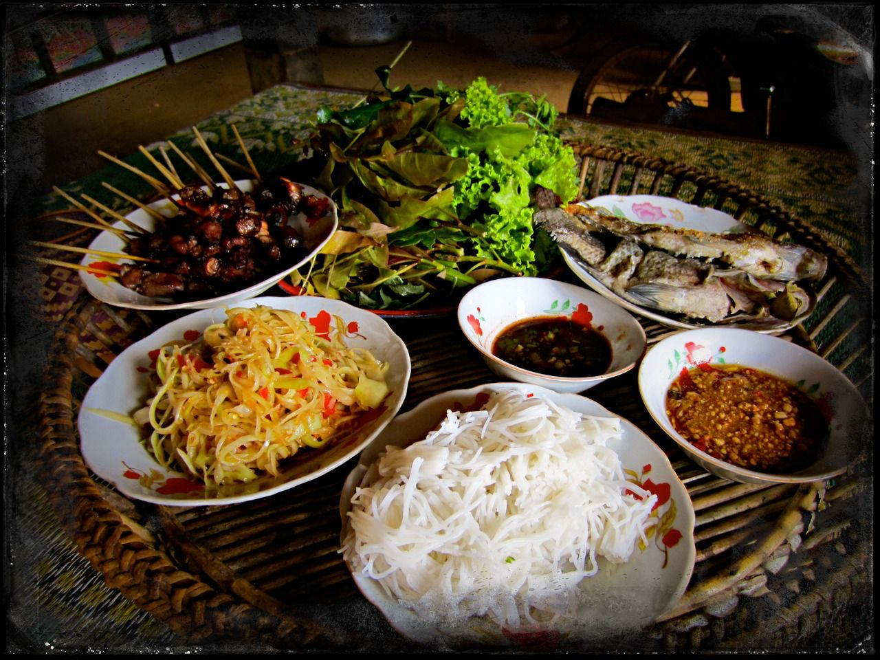 Lao lunch paksong laos 2013 i think this for Ricette asiatiche