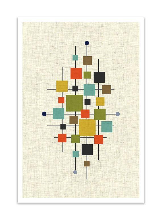Best Of Diy Mid Century Modern Art